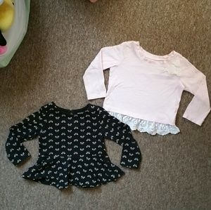 👯$4 IF BUNDLE. 2 tops for toddler